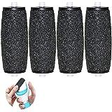 [Set de 4] Rodillos de repuesto Extra rugosos Rodillos Lijadores para Recambio de Scholl Velvet Smooth Diamond Crystals…