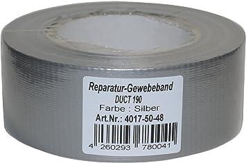 Panzertape Panzerband Gewebeband Duct Tape 50mm x 50m Steinband Gaffa Klebeband