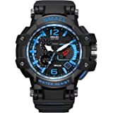 SKMEI Digital Dial Men's Watch-1251 Black …