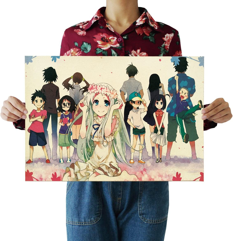 Amazon Com Japanese Anime Kraft Paper Retro Poster Interior Design Ideas Posters Prints