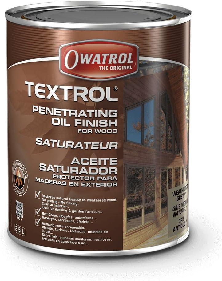 TEXTROL - saturador de madera al aire libre - aceite - 20 Litres ...