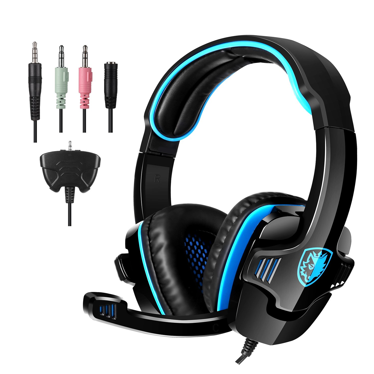 SADES Gaming Headset Headphone for PS4/PC/Laptop/Xbox 360 with Microphone SA-708GT by SADES