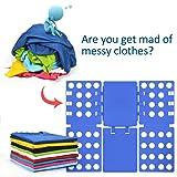 PetOde V1 Shirt foding Board t Shirt Folder Clothes Folder Laundry Room Organizer Flip Fold