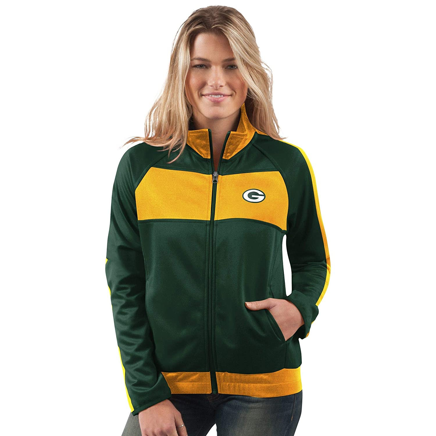 Green Bay Packers Punt Track Jacket, Large