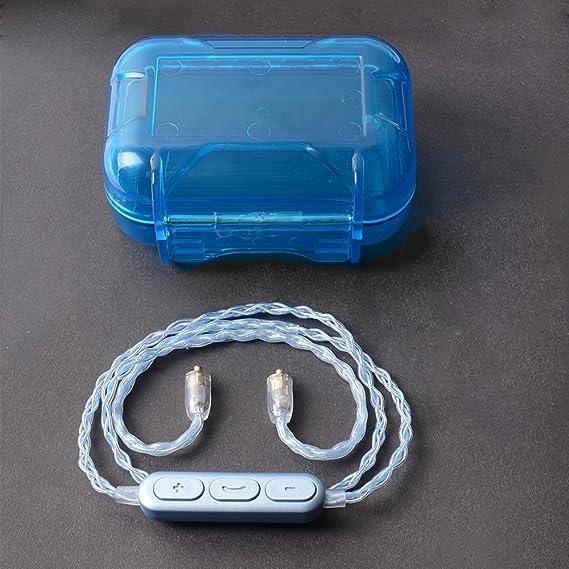 Amazon.com: Bluetooth Earphone Cable,OKCSC MMCX jack Headphone Wire ...