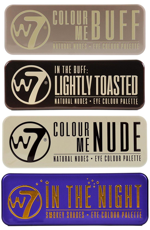 Goldi Box Eye Color Palette by w7 #19