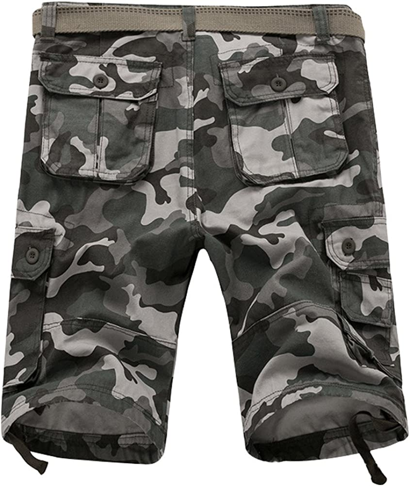 MUST WAY Summer Mens Leisure Cargo Shorts for Beach