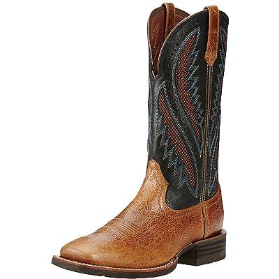 ARIAT Mens Quickdraw Venttek Western Boot Gingersnap/After Dark Size 13   Western