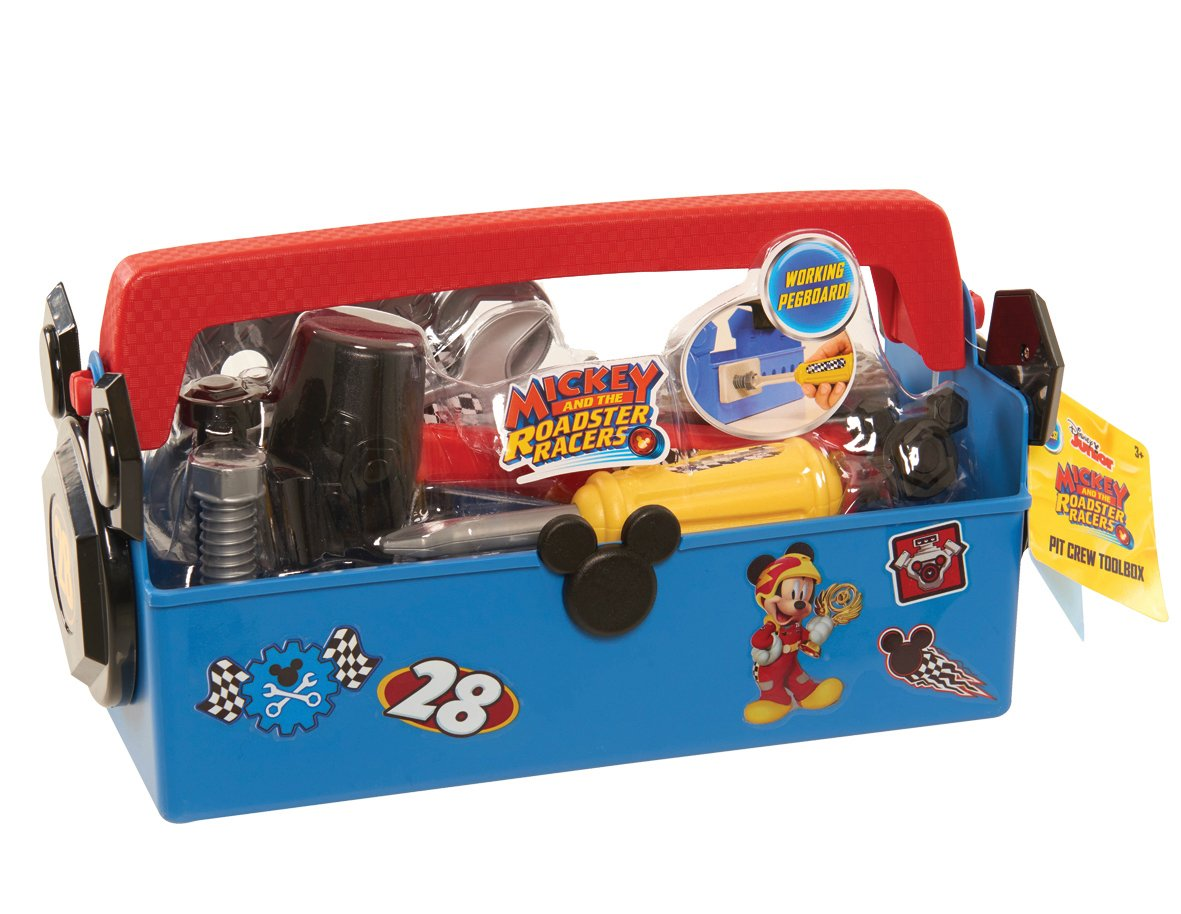 Mickey and The Roadster Racers Tool Box Just Play 38045-Roadster