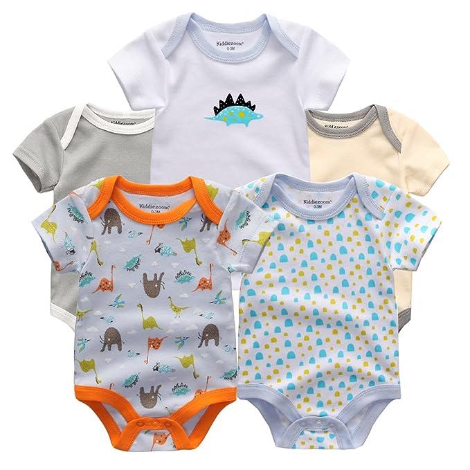kiddezoom paños de bebé Niños Bebé Recién Nacido Niño/Niña Bebé clothings Newbaby vestidos de