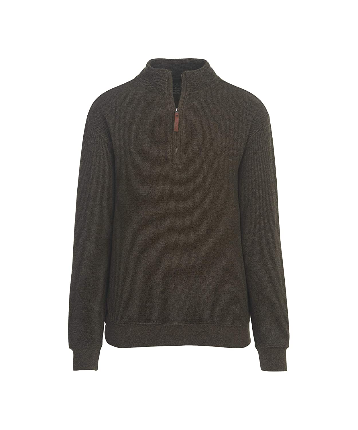 Woolrich Mens Bromley Half-Zip Sweater