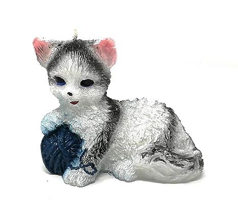 Para estanterías de gato con ovillo de lana vela