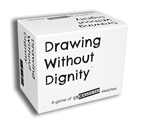 Amazon Com Drawing Without Dignity An Adult Party Game Toys Games