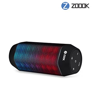 Zoook ZB-Rocker-2 Wireless Bluetooth Speakers (Black) Outdoor Speakers at amazon