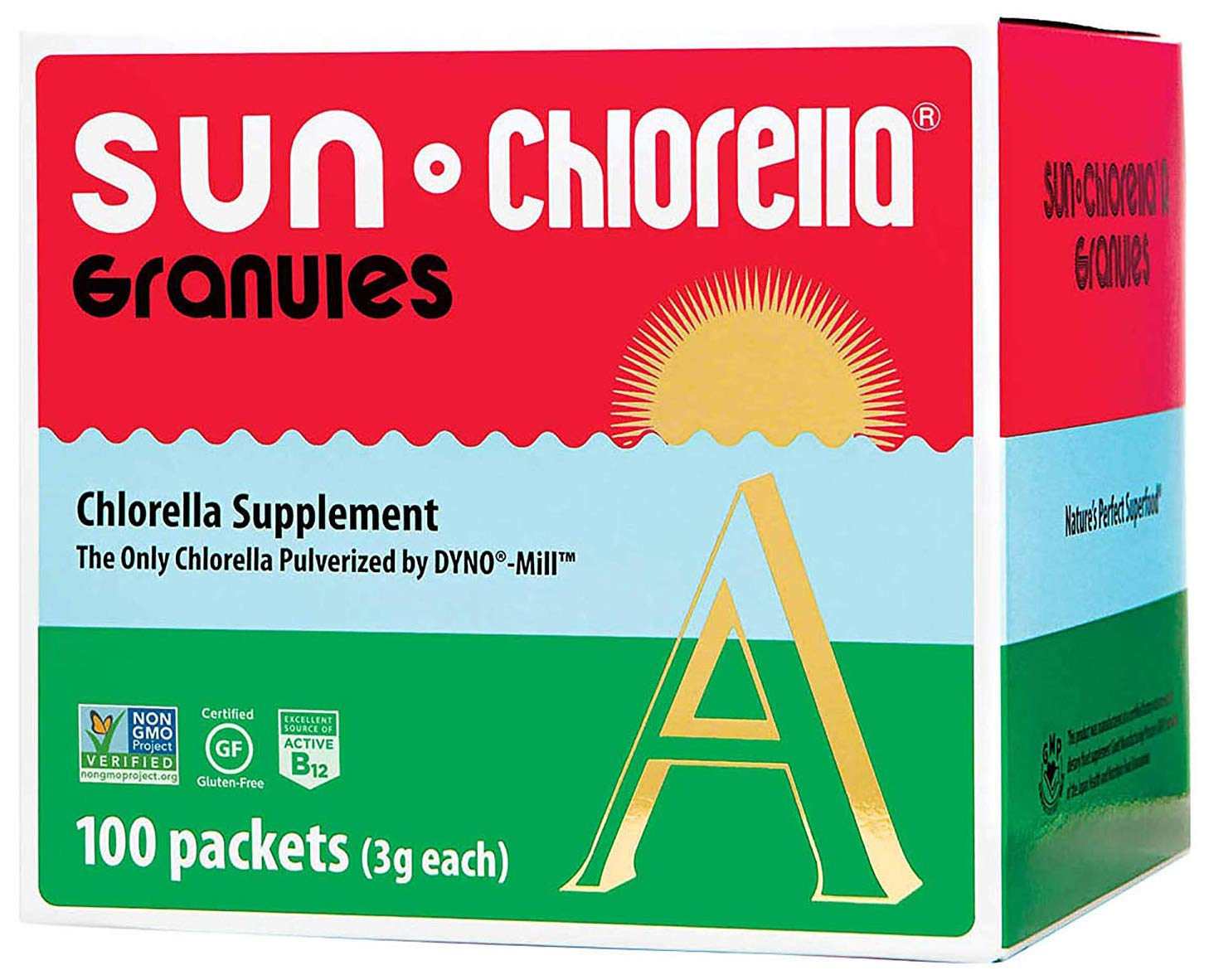 SUN CHLORELLA – Chlorella Supplement Granules 3g – 100 Packets
