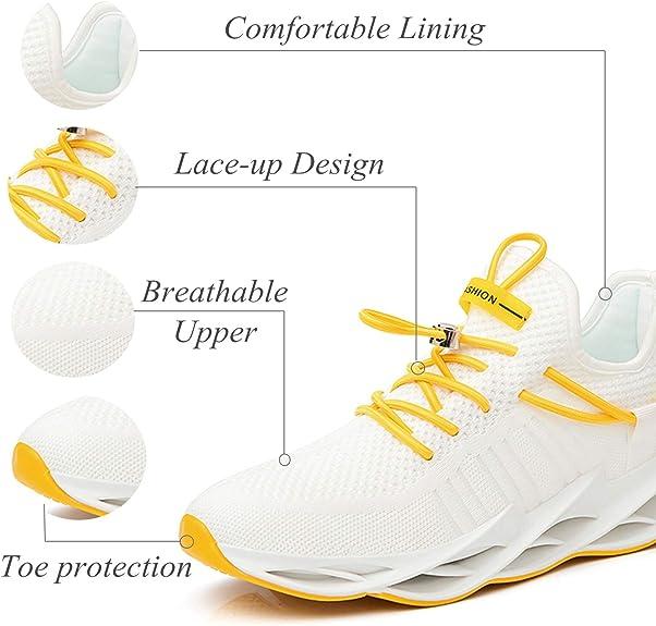 Damyuan Bambas Running Hombre Casual Gimnasio Tenis Trail Correr Zapatillas DeportivasGym Trekking Calzado Zapatos