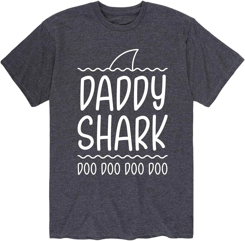 Daddy Shark - Men's Short Sleeve Graphic T-Shirt