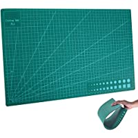 "Bluecookies A3 Self Healing Cutting Mat Non Slip Printed Grid Line Knife Board TE274(11.8""x17.7""x0.12""inch)"