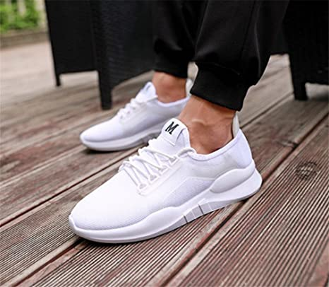 6a9bc8f678090 Amazon.com : LUCKY-U Men Shoes, Men Sports Shoes Running Sneakers ...