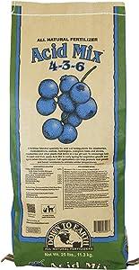 Down To Earth All Natural Acid Mix Fertilizer 4-3-6, 25 lb