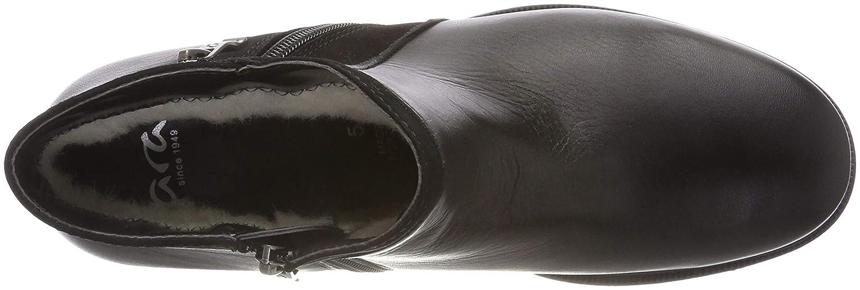 ARA Damen Kansas (Schwarz Stiefeletten Schwarz (Schwarz Kansas 61) 8fb6c3