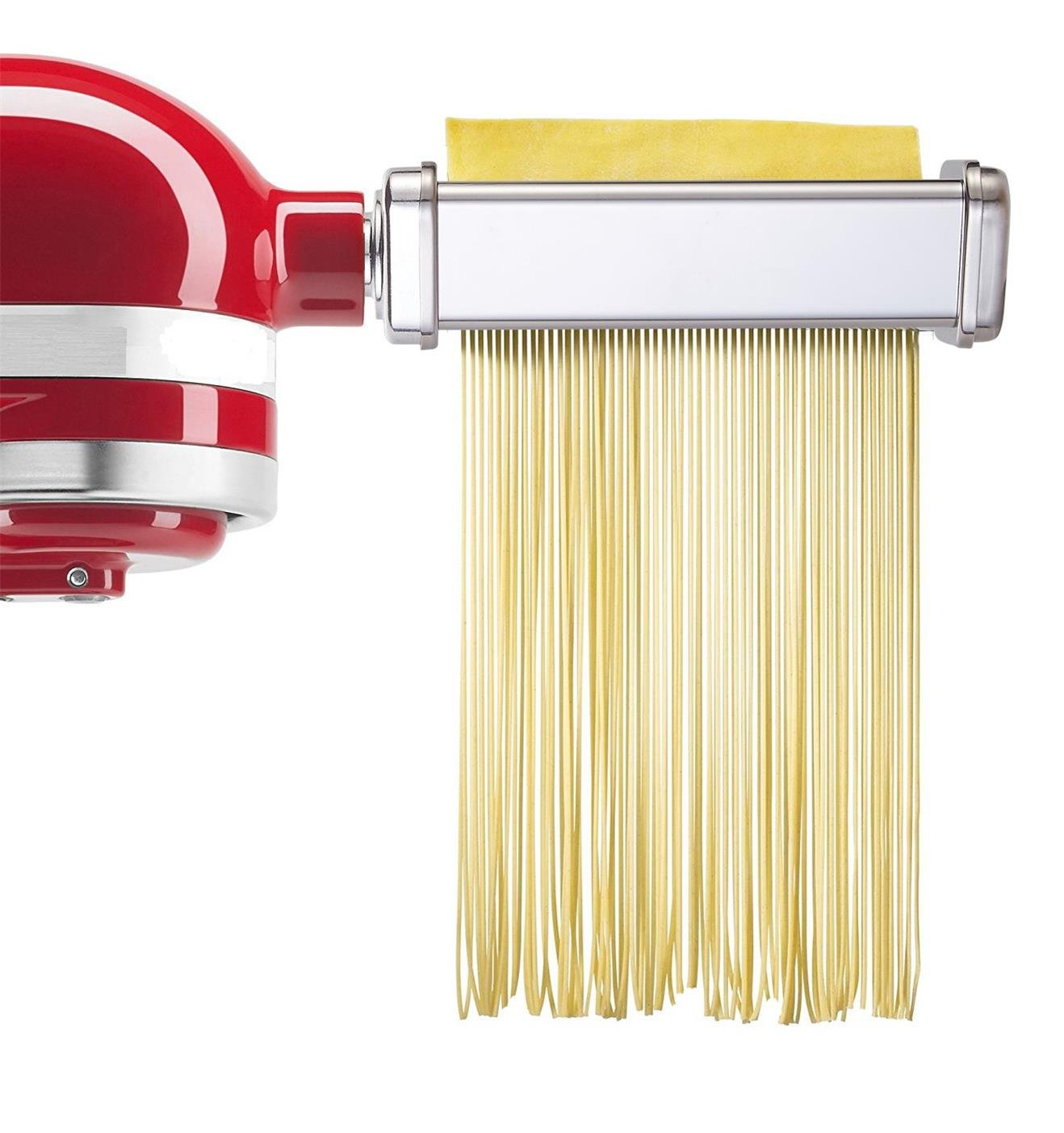 GVODE 3-Piece Pasta Roller and Cutter Set for KitchenAid Stand Mixers,Stainless Steel by GVODE (Image #4)