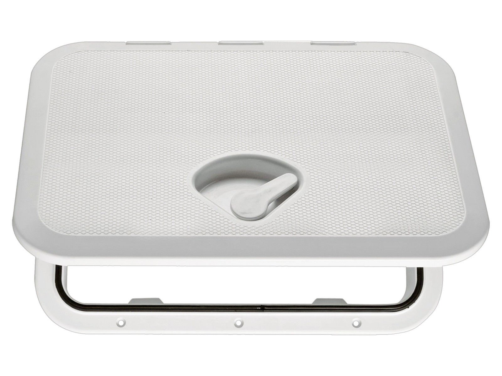 Seaflo Marine Boat Deck Access Hatch & Lid 14.75'' x 10.6'', White, 270mm x 375mm