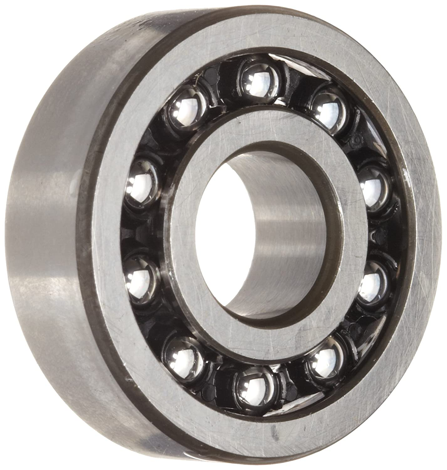 52mm OD NULL Maximum Rotaional Speed Schaeffler Technologies Co. Double Row 25mm Width Metric Open Polyamide//Nylon Cage 25mm ID FAG 11505TV Self-Aligning Bearing Normal Clearance