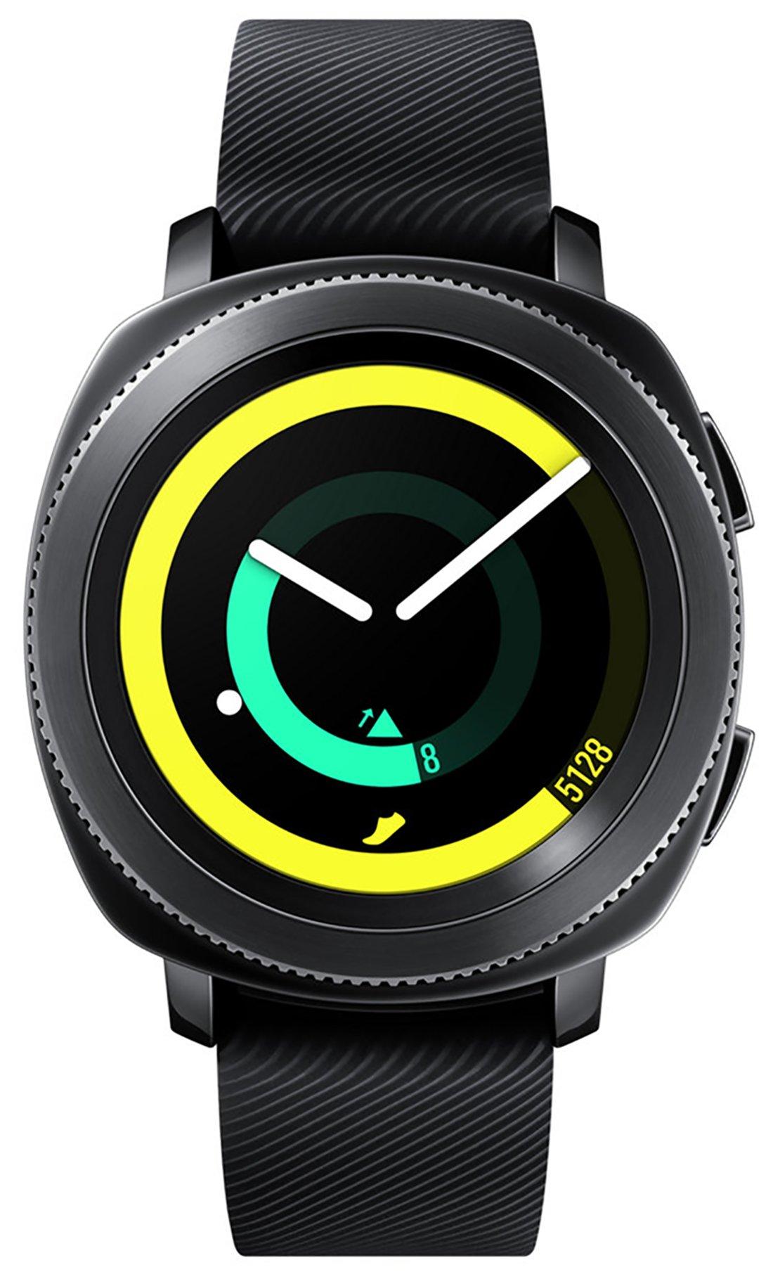 Samsung Gear Sport Smartwatch Fitness Tracker- Water Resistant - International Version- No Warranty- Black (SM-R600NZKATTT) by Samsung (Image #1)
