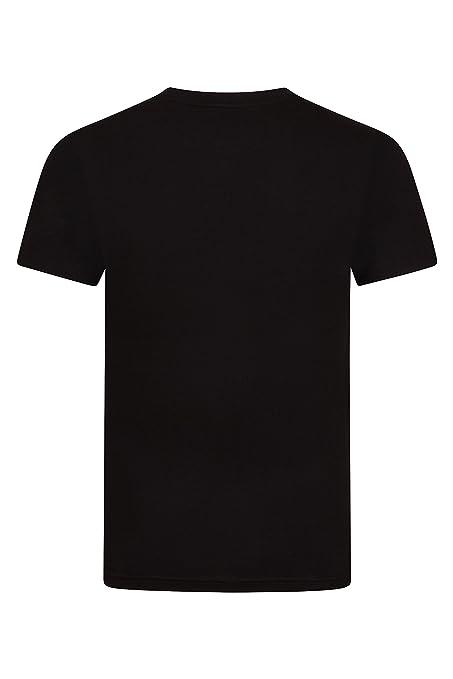 0ab8ce1c87b0 FM London 5-Pack Men s Plain T-Shirt with HyFresh Odour Protection  Technology  Amazon.co.uk  Clothing