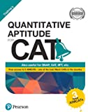 Quantitative Aptitude for CAT by Pearson(with 3 Free AIMCATs)