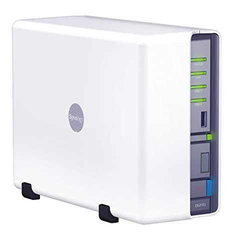 Synology DiskStation 2-Bay (Diskless) Network Attached Storage DS210j  (White)
