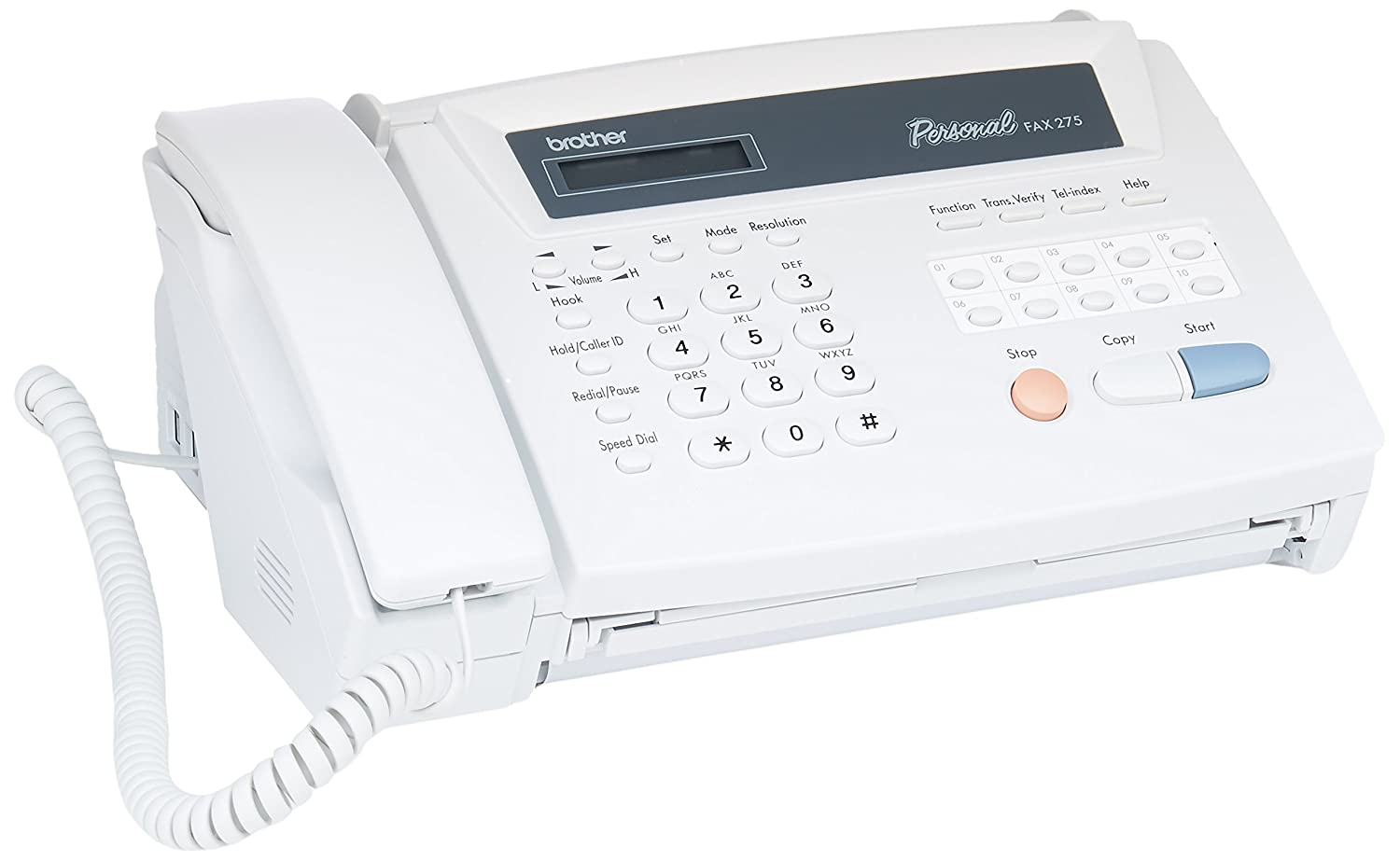 Brother FAX275 Personal Fax and Telephone Fax Machines (Facsimile)