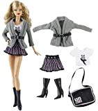 """HongShun 1 Set Fashion Party Casual Daily Dress for 11"""" Barbie Doll"""