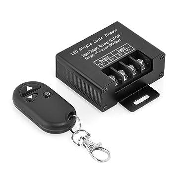 Neuftech LED Dimmer 12V + Control Remoto RF Remoto para Monocromo Tira de led con Dos Modos- 12V /24V MAX. 20A: Amazon.es: Electrónica