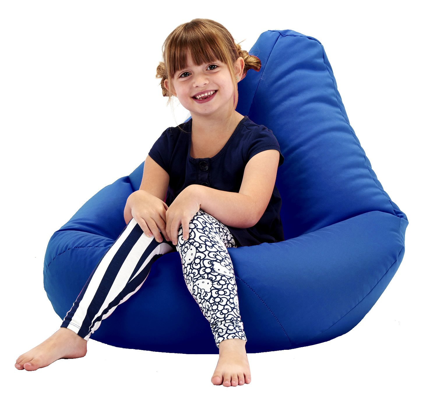 GARDEN FURNITURE Aqua Water Resistant Beanbag Lounger For Kids Perfect For Indoor or Outdoor Bean bags Beautiful Beanbags AQA-OD-KHB