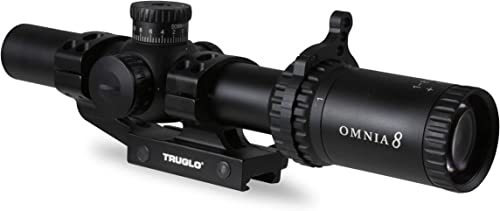 TRUGLO Omnia Tactical Rifle Scope Low Power Variable Optic