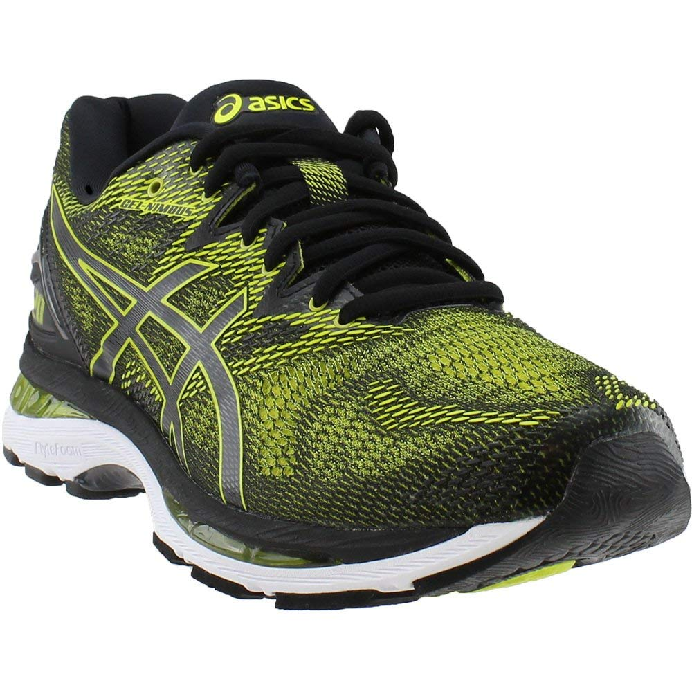 ASICS Men's Gel-Nimbus 20 Running Shoe, Sulphur Spring/Black/White, 6.5 Medium US by ASICS (Image #1)