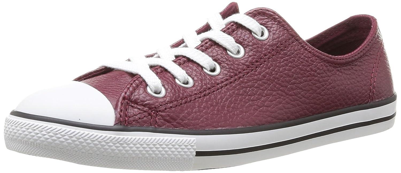 Converse Dainty Leath Ox, – Zapatillas deportivas unisex 37 EU|Rojo