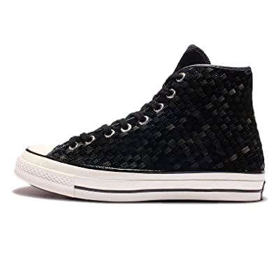 b59299048695 Amazon.com  Converse CTAS 70 HI Fashion Sneakers 151244C Black Egret ...