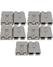 Packet of 10 Genuine Anderson Plug Connectors 50A Caravan Trailer Solar 4x4 Truck