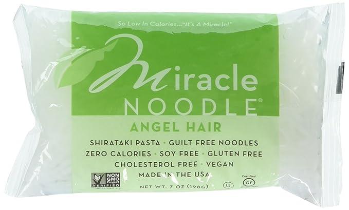 Amazon Com Miracle Noodle Angel Hair Pasta 7 Ounce 6 Per Case