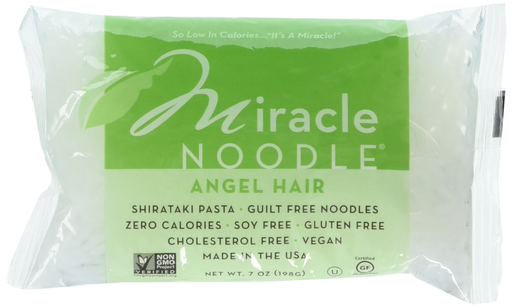 Miracle Noodle Angel Hair Pasta, 7 Ounce -- 6 per case.