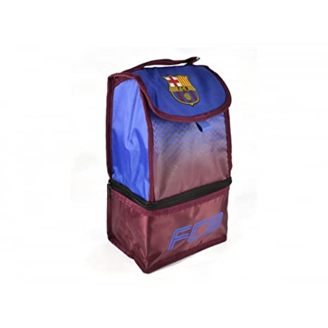 FC Barcelona Official Soccer Fade Design Lunch Bag (One Size) (Blue/Red