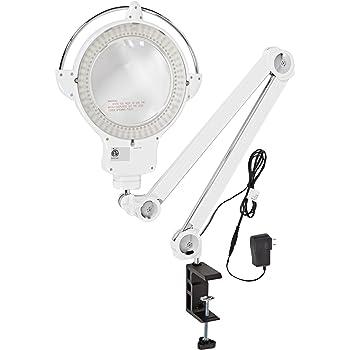 Amazon Com Aven Provue White Led Uv Magnifying Lamp