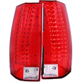 Anzo USA 311190 Red/Clear LED Tail Light for Chevy Tahoe/Suburban/Yukon/Yukon Xl
