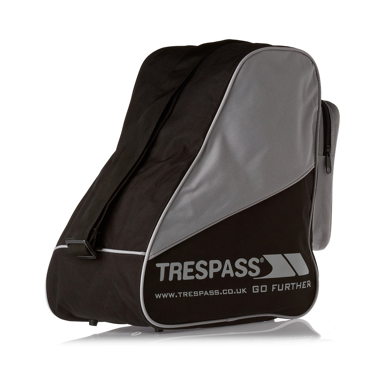 Trespass - Mochila para botas de Esquí Modelo Stormfront - Nieve/Snowboard color negro UUACBAB20011_BLKEACH