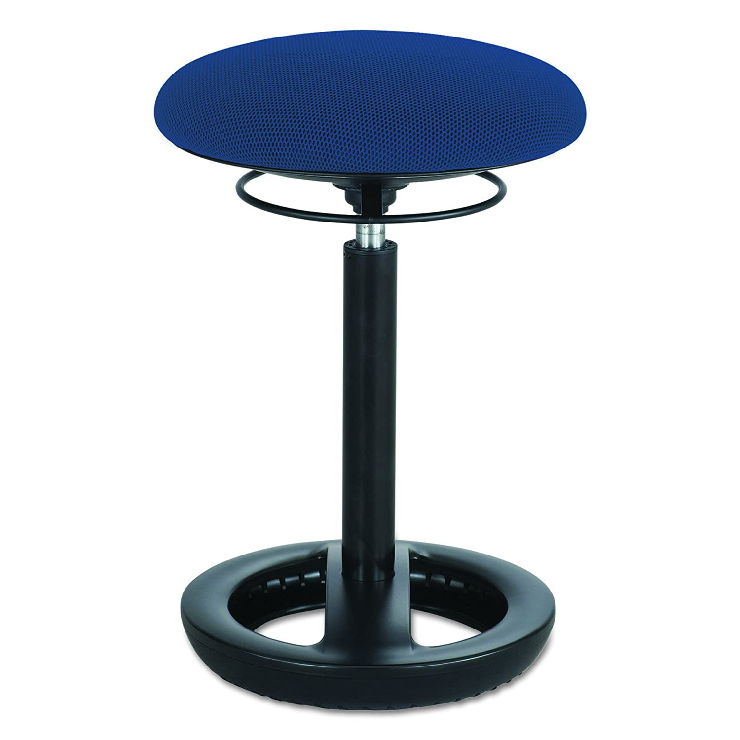 Safco Products Twixt Active Seating Chair, Desk Height, 3000BL, Active Seating, Pneumatic Height Adjustment, Easy Portability, Ergonomic Design