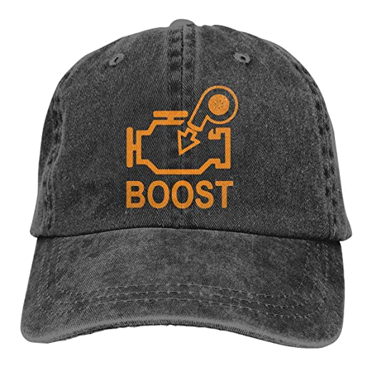 28bd6e13474 Boost Check Engine Light - Turbo Denim Hats Adjustable Baseball Cap Dad Hats  at Amazon Men s Clothing store