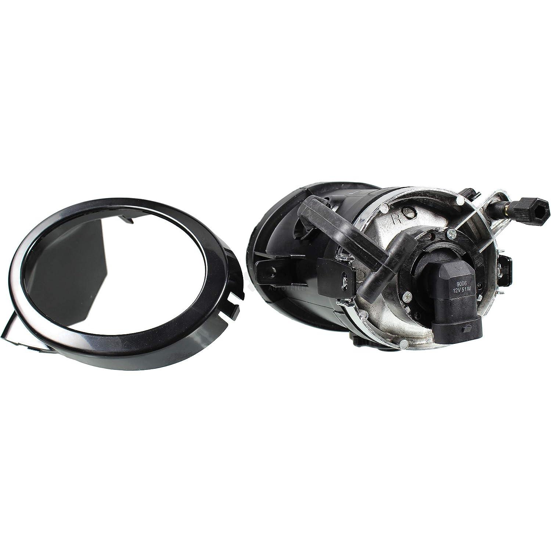 klar smoke 95 Nebelscheinwerfer Set f/ür 3er E46 5er E39 Sportoptik Bj